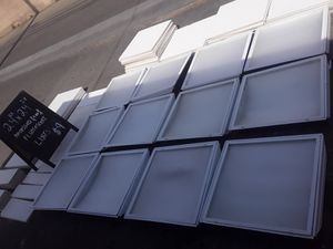 24×24in Recessed Lights - 24in×24in ceiling tiles - 24x8- 24x6. for Sale in Clovis, CA