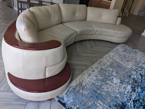 Global Furniture USA modern contemporary beige sectional for Sale in Katy, TX