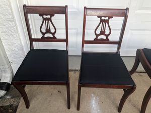 Two pretty little antique very antique chairs for Sale in Alexandria, VA