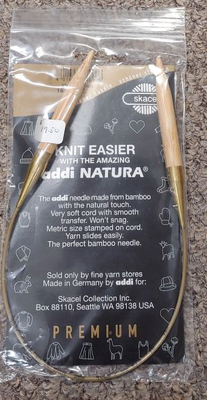 New Knit Easier With The New addi NATURA Premium US 13 16mm for Sale in Burlington, NC