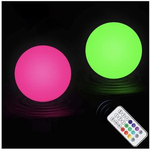 Chakev Floating Pool Lights with Timer, 3-inch Color Changing LED Ball Lights, IP67 Full Waterproof Hot Tub Glow Bath Toys, Hanging Light Balls for Be for Sale in Baldwin Park, CA