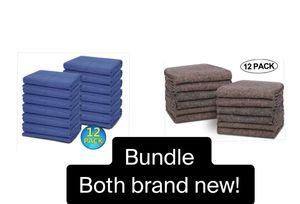BUDLE 24 Moving Packing Blankets Heavy Duty Moving Pads for Protecting Furniture Professional for Sale in Irvine, CA