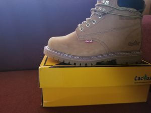 New cactus work boots /8.5 mens, brand new for Sale in Las Vegas, NV