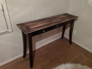 Rustic Entry Console Sofa table for Sale in Hayward, CA