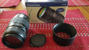 Quantaray for Canon EF EFS 70-300mm lens for Sale in Albuquerque, NM