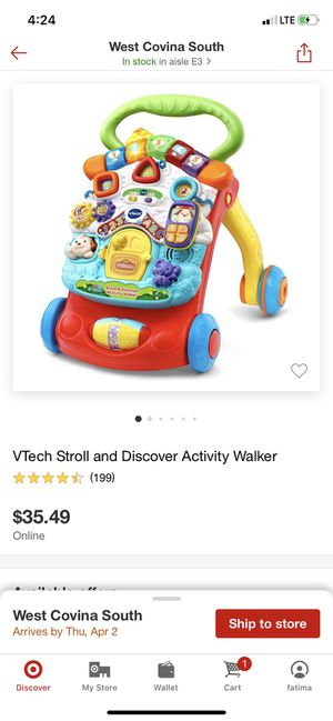 Vtech stroll and discover activity walker for Sale in Industry, CA