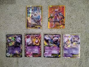 Mewtwo EX Collection Pokemon TCG: 1 (Secret Rare) 5 (Ultra Rare), M/NM, Never played (Pokemon listings combine)(Ship for $1 with PayPal) for Sale in Lancaster, PA