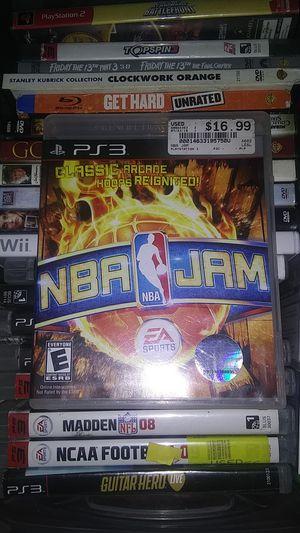 NBA JAM PS3 for Sale in Oklahoma City, OK