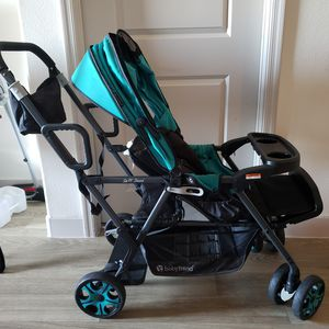 Baby Trend Sit 'N Stand Double Stroller for Sale in Las Vegas, NV