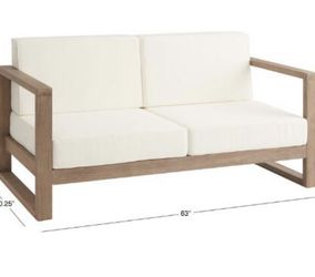 World Market Outdoor Segovia Loveseat Couch for Sale in Los Angeles,  CA