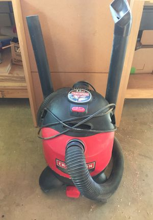 Craftsman wet and dry vacuum for Sale in Rancho Cucamonga, CA