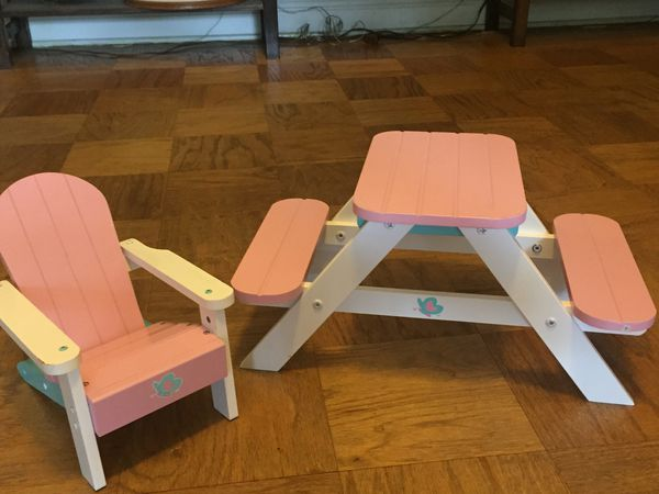 American girl doll furniture set