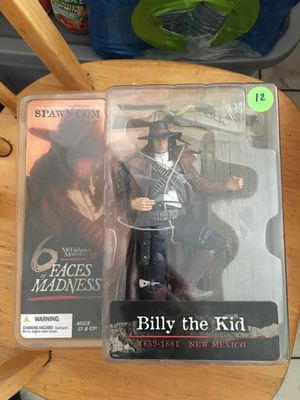 McFarland Toys Billy the Kid figure for Sale in East Los Angeles, CA