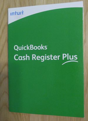Brand New Intuit QuickBooks CASH REGISTER PLUS 2008 for Windows for Sale in Downey, CA