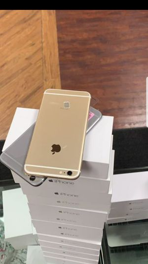 iphone 6 unlocked plus warranty for Sale in Columbus, OH