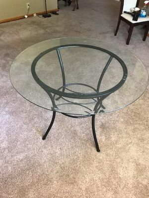 Glass Top Dining Table for Sale in Wichita, KS