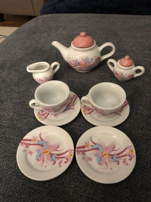 Porcelain Tea Playset. Includes extra playset for free. MAKE OFFER for Sale in Greenville, SC