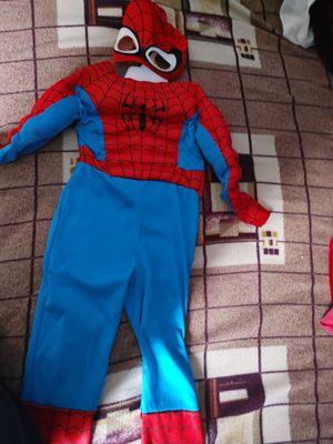 Spider man costume for kids for Sale in Fairfax, VA