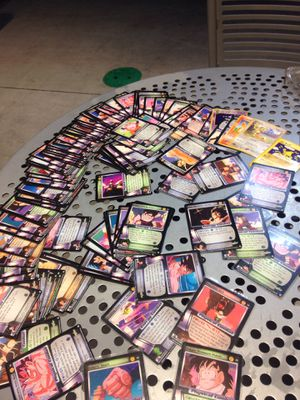 collection of dragon ball z cards for Sale in Riverview, FL