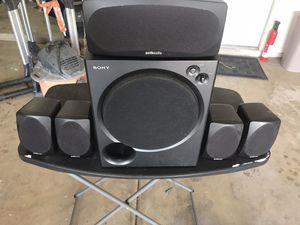 Polk audio wired surround sound system $40 for Sale in Chandler, AZ