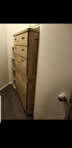 Solid wood dressers both for 170$ for Sale in Pasadena, CA
