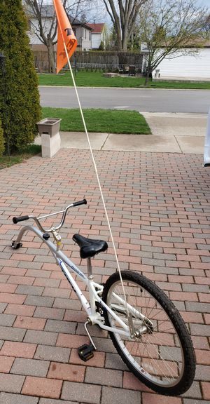 Mountain Train Trek Tag Along Trailer Gray Bike Bicycle for Sale in Morton Grove, IL