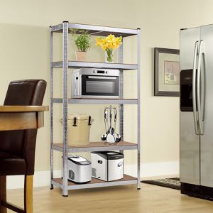 72 Storage Shelf Steel Metal 5 Levels Adjustable Shelves for Sale in Wildomar, CA