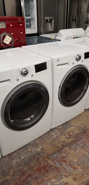 Kenmore washer and dryer front load set for Sale in San Antonio, TX