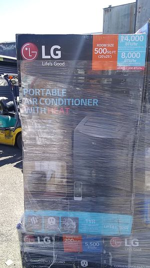 Lg portable air conditioner for Sale in Philadelphia, PA