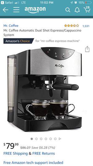 Mr. Coffee cappuccino maker for Sale in New Market, MD