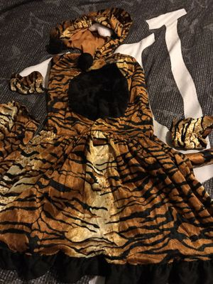 Girls-tiger costume for Sale in Grand Prairie, TX