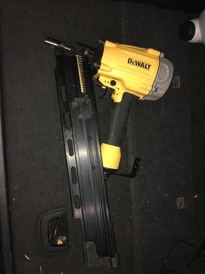 Dewalt air nail gun for Sale in Dallas, TX