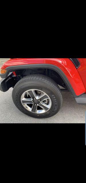 2019 jeep wrangler wheels! for Sale in Hialeah, FL