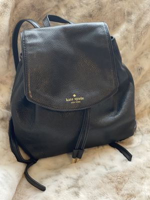 EUC Kate Spade Mulberry Street Breezy Black Pebbled Leather Mini Backpack for Sale in Chandler, AZ