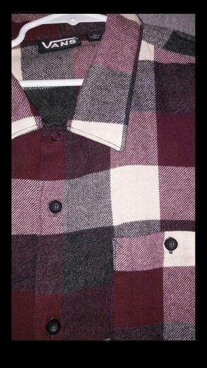 Vans Flannel shirt size L for Sale in Las Vegas, NV