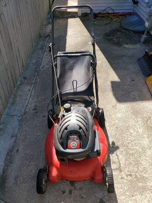 5hp/21 yard machine lawnmower with bagger for Sale in Woonsocket, RI