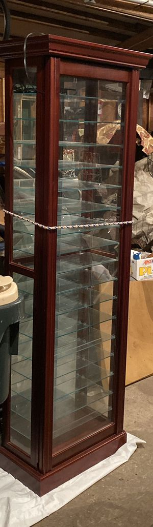 Glass display cabinet for Sale in Portland, OR