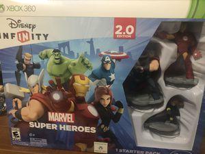 Xbox 360 Disney infinity marvel superhero for Sale in Grand Prairie, TX