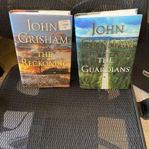 John Grisham Novels: The Guardian & The Reckoning - Hardback for Sale in Kent, WA