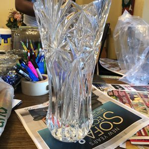 Crystal Glass Vase for Sale in Hollywood, FL