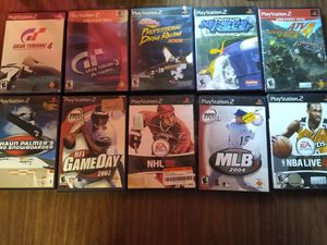 PS2 VIDEOGAMES 10 PACK for Sale in Orlando, FL