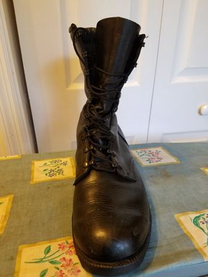 Mens all leather military boots. 13.5R. for Sale in PA, US