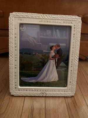 8x10 wedding frame for Sale in Medford, NJ