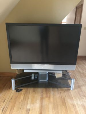"FREE! 61"" TV w/ Stand for Sale in La Grange, IL"