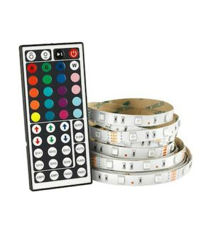 Ove Decors 15LST-LEDT33-TCLSK 32.8 Foot Indoor RGB LED Tape Strip with Remote for Sale in Weymouth, MA
