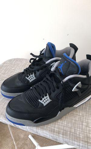 Jordan 4's, black and blue Size 13 for Sale in Herndon, VA