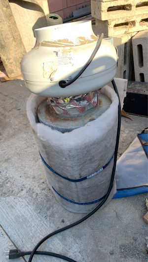 carbon filter with fan for Sale in Anaheim, CA