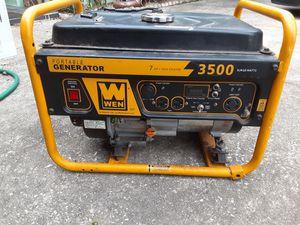 3500 watt 110/240 rv ready generator for Sale in Clearwater, FL