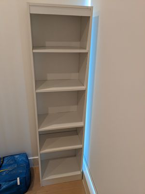 2 White book shelves / shelf / storage for Sale in New York, NY