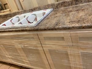8ft kitchen cabinet formaica countertop & sink for Sale in Los Angeles, CA